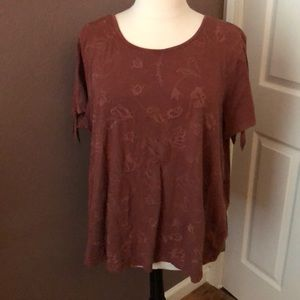 Plus size 2X top by Sonoma.